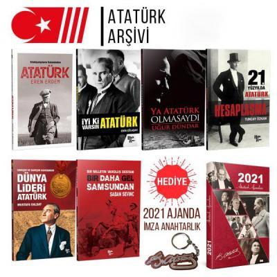 Atatürk Arşivi (2021 Atatürk Ajandası ve İmza Anahtarlık Hediyeli)