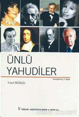 Yusuf Besalel - Ünlü Yahudiler   Sözcü Kitabevi