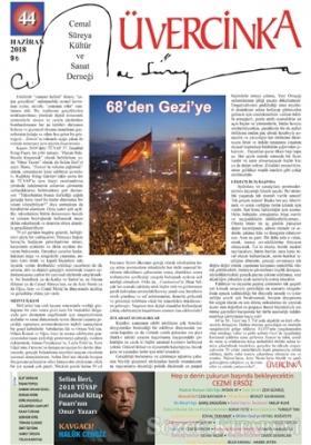 Üvercinka Dergisi Sayı: 44 Haziran 2018