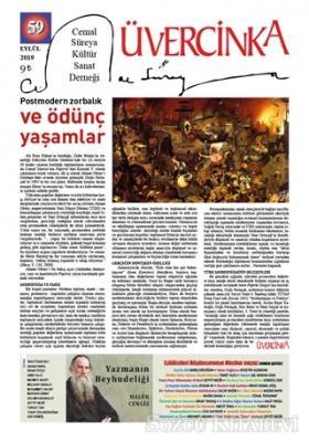 Kolektif - Üvercinka Dergisi Sayı: 59 Eylül 2019 | Sözcü Kitabevi
