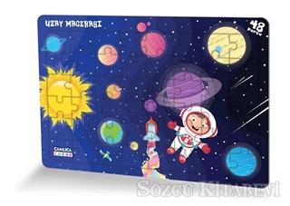 Uzay Macerası - (Eğlenceli Puzzle 1)