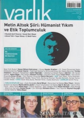 Varlık Aylık Edebiyat ve Kültür Dergisi Sayı: 1260 - Eylül 2012
