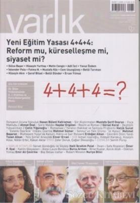 Varlık Aylık Edebiyat ve Kültür Dergisi Sayı: 1261 - Ekim 2012