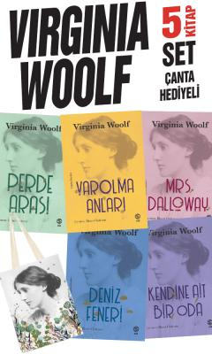 Virginia Woolf  5 Kitap Set (Çanta Hediyeli)