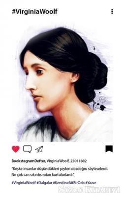 Virginia Woolf - Bookstagram Defter