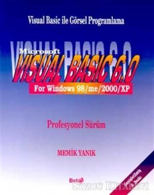 Visual Basic 6.0 For Windows 98/me/2000/XP