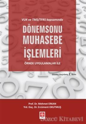 Mehmet Erkan - VUK ve TMS/TFRS Kapsamında Dönem Sonu Muhasebe İşlemleri | Sözcü Kitabevi