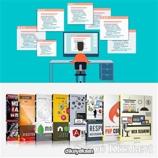 Burak Tokak - Web Programlama Eğitim Seti 2 (8 Kitap Takım) | Sözcü Kitabevi