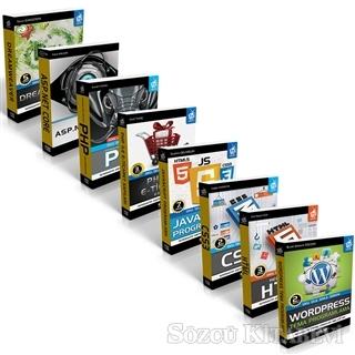 Web Tasarım Seti (8 Kitap Takım)