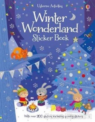 Fiona Watt - Winter Wonderland Sticker Book   Sözcü Kitabevi