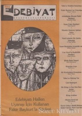 Yaba Edebiyat Dergisi Sayı: 1