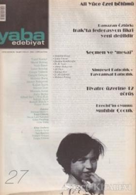 Yaba Edebiyat Dergisi Sayı: 27
