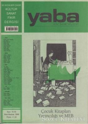 Yaba Edebiyat Dergisi Sayı: 51-52