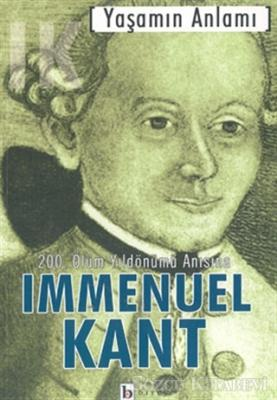 Immanuel Kant - Yaşamın Anlamı | Sözcü Kitabevi