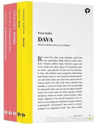Kolektif - Yetişkin Klasikleri-Kafka ve Stefan Zweig Seti-5 Kitap Takım   Sözcü Kitabevi