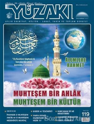 Yüzakı Aylık Edebiyat, Kültür, Sanat, Tarih ve Toplum Dergisi Sayı: 119 Ocak 2015