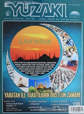 Yüzakı Aylık Edebiyat, Kültür, Sanat, Tarih ve Toplum Dergisi / Sayı:136 Haziran 2016
