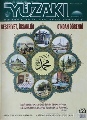 Yüzakı Aylık Edebiyat Kültür Sanat Tarih ve Toplum Dergisi Sayı: 153 Kasım 2017