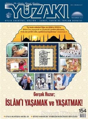 Yüzakı Aylık Edebiyat Kültür Sanat Tarih ve Toplum Dergisi Sayı: 154 Aralık 2017