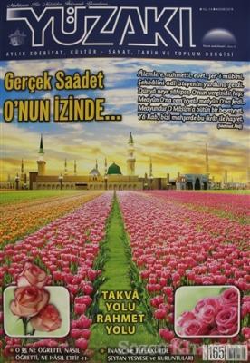 Yüzakı Aylık Edebiyat, Kültür - Sanat, Tarih ve Toplum Dergisi Sayı: 165