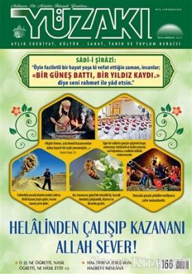 Yüzakı Aylık Edebiyat, Kültür, Sanat, Tarih ve Toplum Dergisi Sayı: 166 Aralık 2018