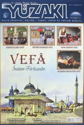 Yüzakı Aylık Edebiyat, Kültür - Sanat, Tarih ve Toplum Dergisi Sayı: 173 Temmuz 2019