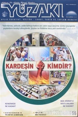 Yüzakı Aylık Edebiyat, Kültür - Sanat, Tarih ve Toplum Dergisi Sayı: 176 Ekim 2019