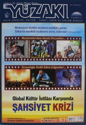 Yüzakı Aylık Edebiyat, Kültür - Sanat, Tarih ve Toplum Dergisi Sayı: 179 Ocak 2020