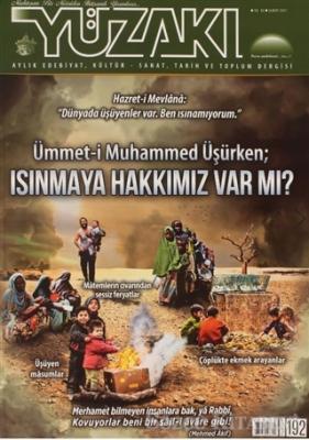 Yüzakı Aylık Edebiyat, Kültür, Sanat, Tarih ve Toplum Dergisi Sayı: 192 Şubat 2021