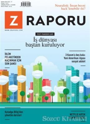 Z Raporu Dergisi Sayı: 17 Ekim 2020