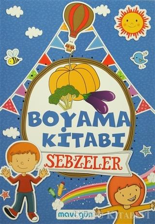Kolektif Boyama Kitabi Sebzeler Sozcu Kitabevi