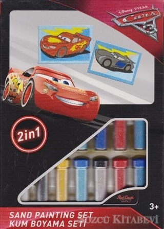 Kolektif Cars 3 Kum Boyama Seti Ds 30 Sozcu Kitabevi