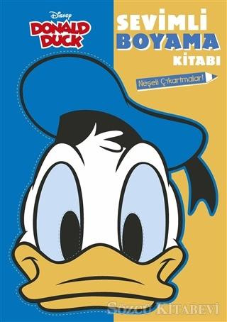Kolektif Donald Duck Sevimli Boyama Kitabi Sozcu Kitabevi